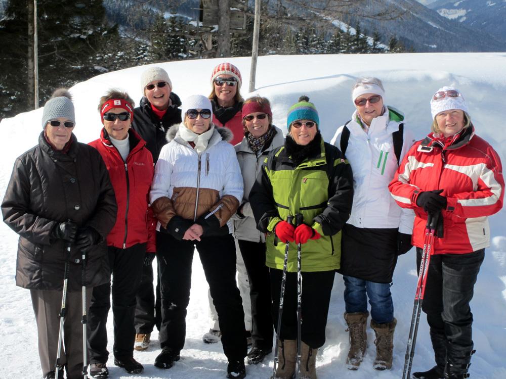 Ausflug Woll-Lust Gruppe nach ........ , Februar 2013