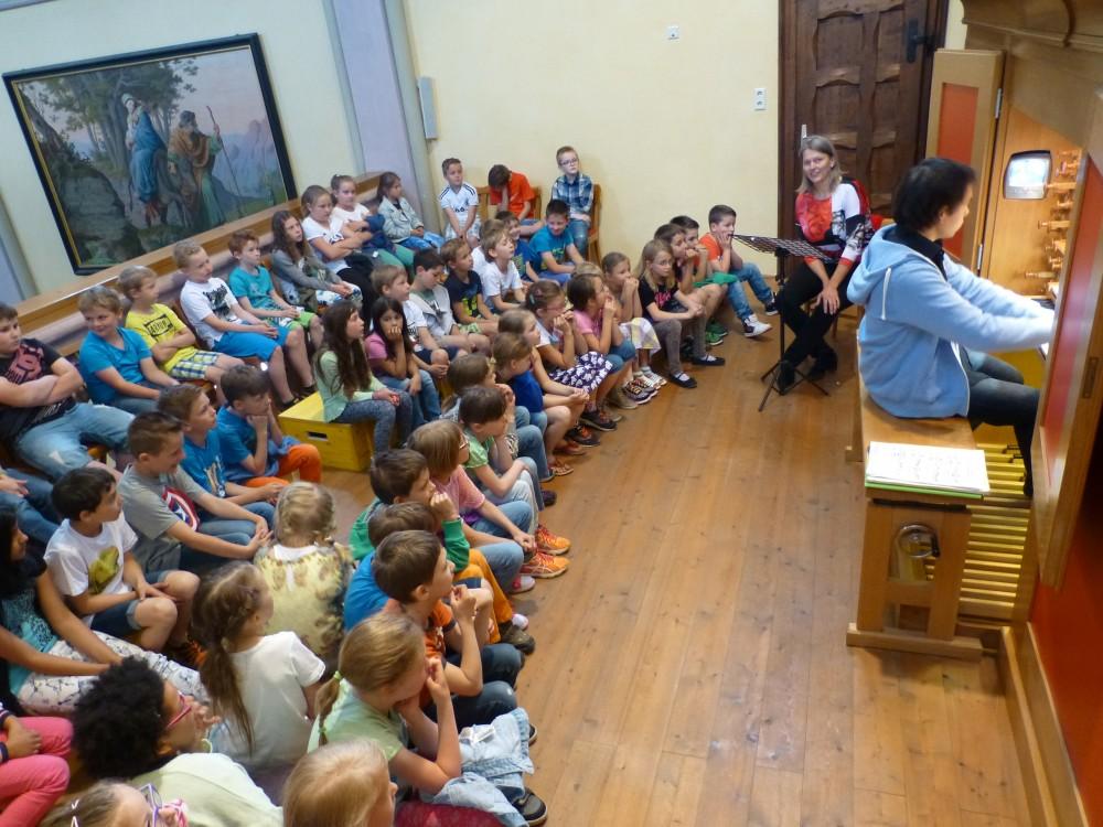 Orgeleinführung für Kinder - Maria Hauer, Gabriel Romberger