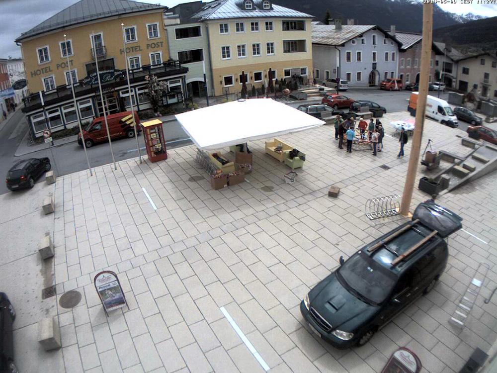 Aufbau Wollkugel, Mai 2014