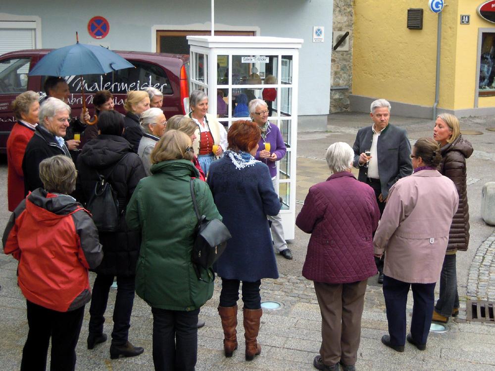 """Eröffnung Mini Galerie mit Ausstellung """"Winter ade´"""", März 2012"""