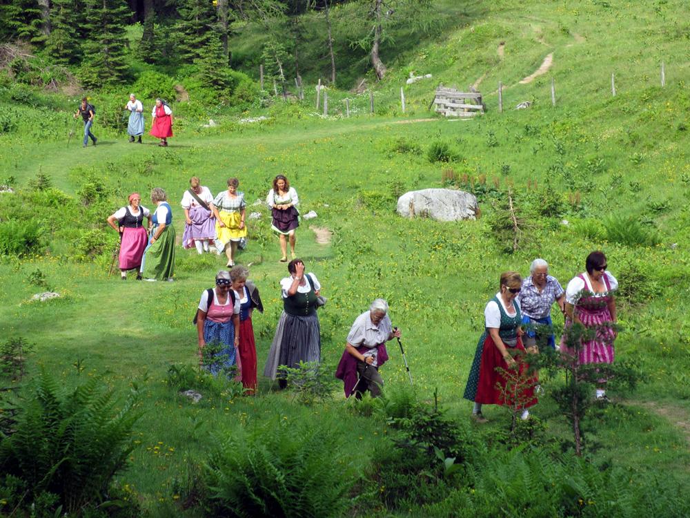 Ausflug Wahlenalm Filzmoos, Juli 2012