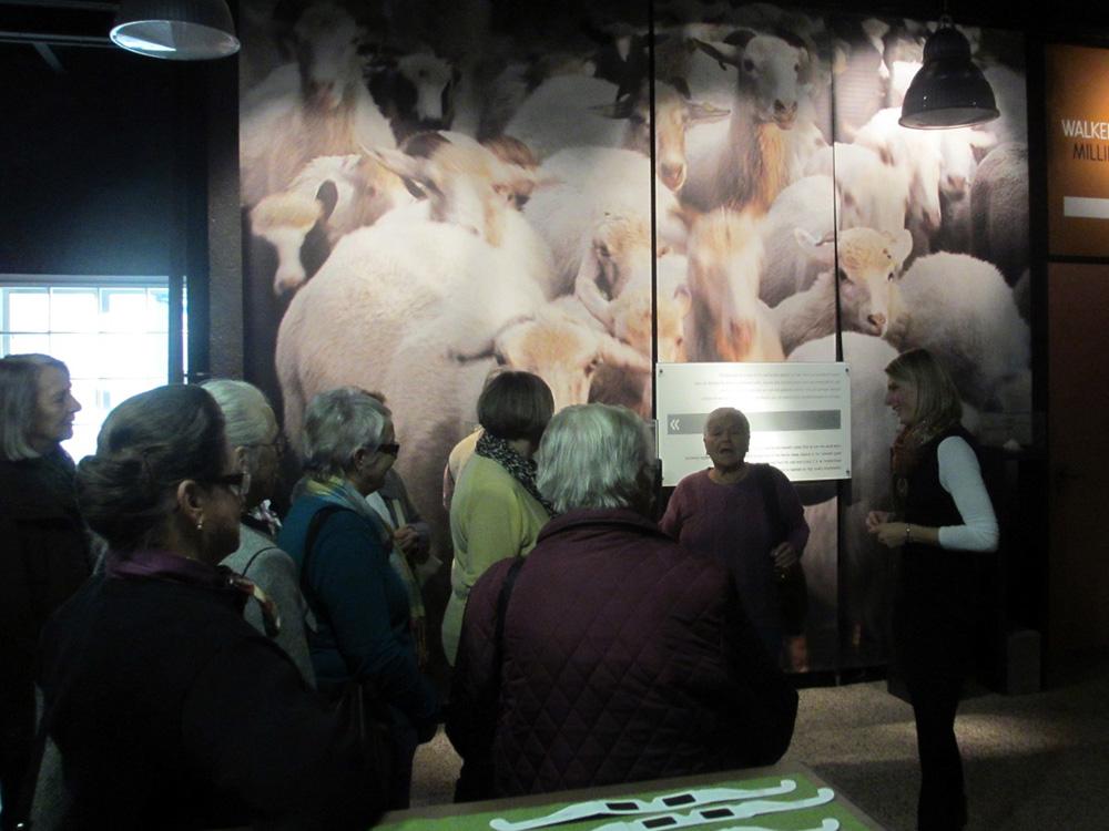 Besichtigung Loden Steiner Mandling, November 2012