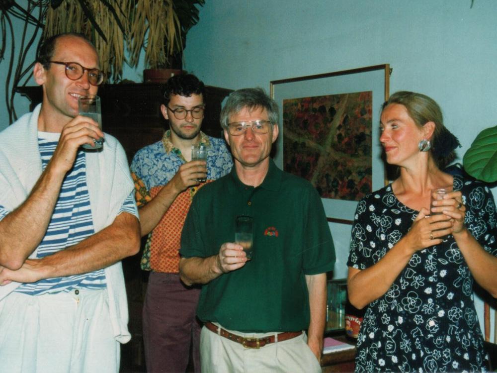 Josef Schneider, Helfried Breymann, Elisabeth Schneider, 1993