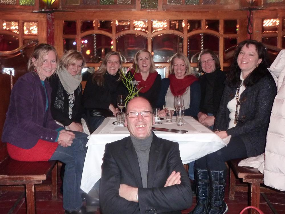 Vorstand Kulturkreis Das Zentrum mit Freunden, 2010, Winterfest Salzburg
