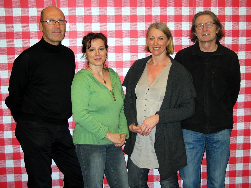 Josef Schneider, Marianne Ellmer, Elisabeth Schneider, Michael Habersatter, 2011, 30 Jahre Kulturkreis Das Zentrum