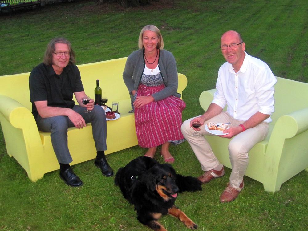 Michael Habersatter, Elisabeth Schneider, Josef Schneider, 2012, Paul Hofhaimer Tage, Schloß Höch Flachau
