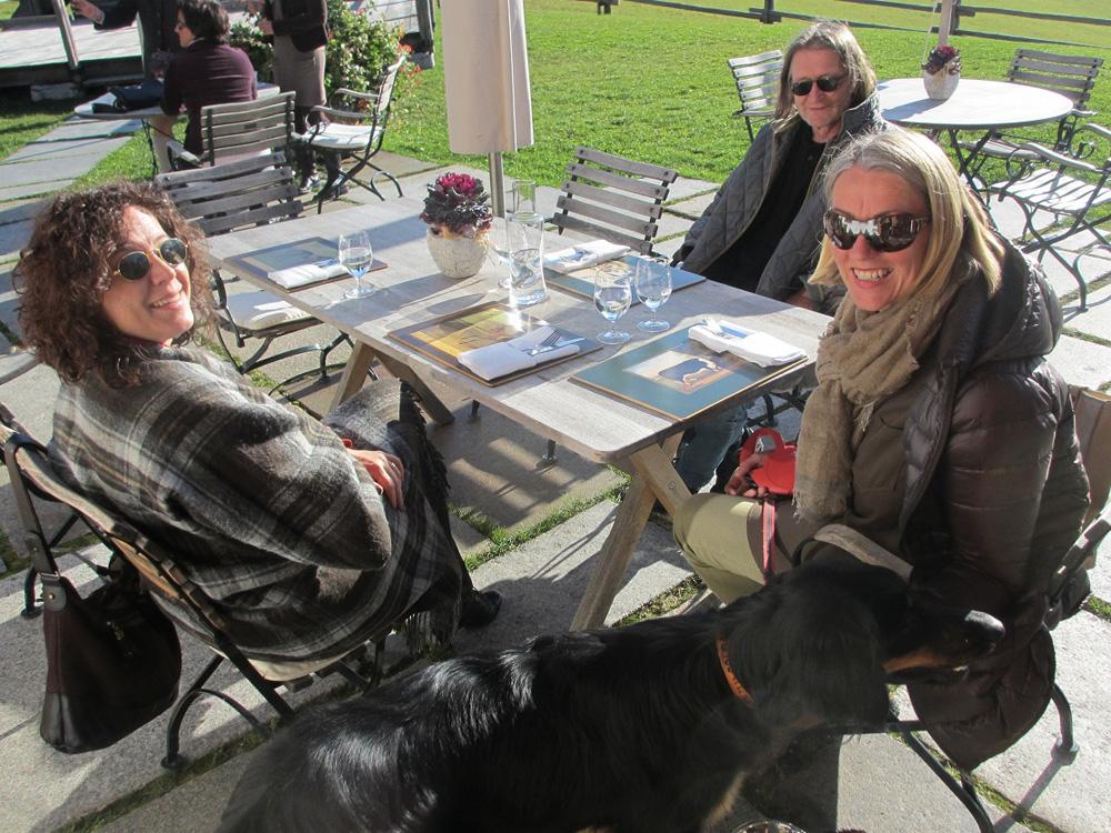 Marianne Ellmer, Michael Habersatter, Elisabeth Schneider, 2012, Vorstandssitzung Winterstellgut Annaberg