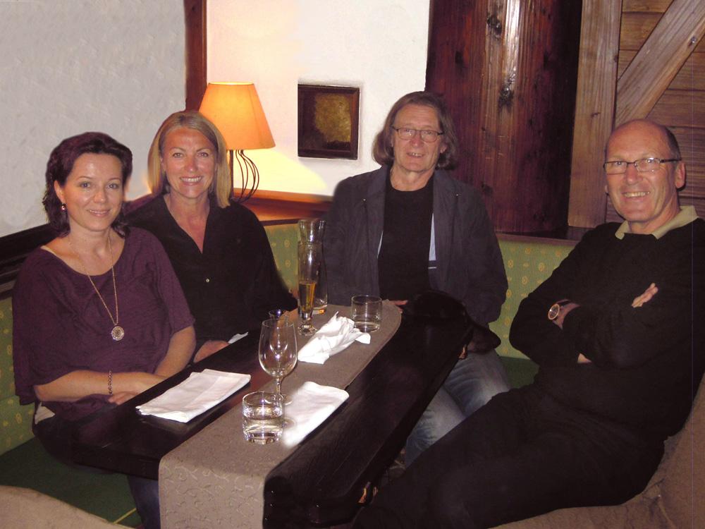 Marianne Ellmer, Elisabeth Schneider, Michael Habersatter, Josef Schneider, 2014, Steiners, Eben im Pongau