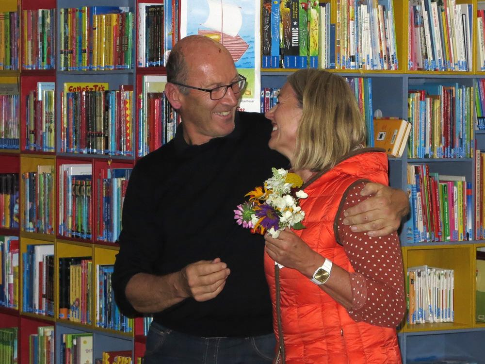 Josef Schneider, Elisabeth Schneider, 2015, Preisverleihung Kunsthandwerksmarkt Radstadt