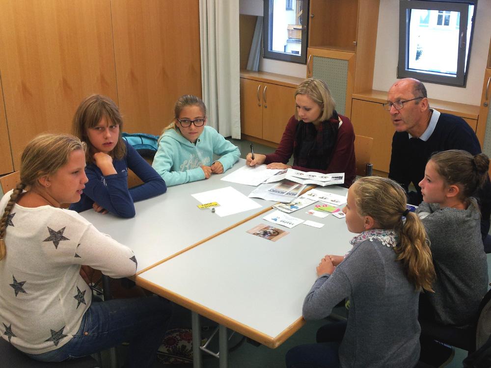 25. Radstädter Kunsthandwerksmarkt 2015 | Jurysitzung der Kinderjury