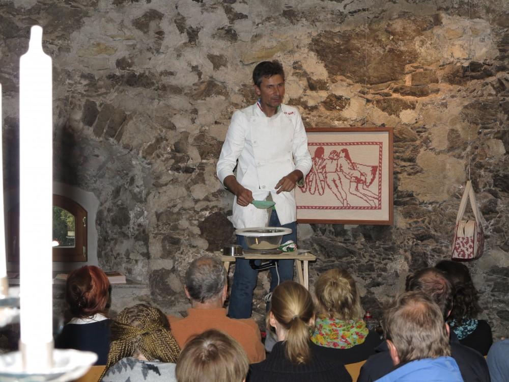 Kochshow mit Götz Bury
