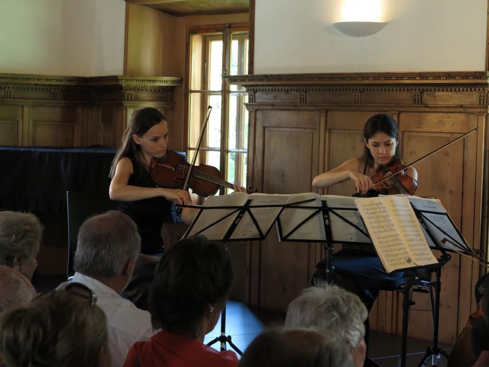 Konzert Minetti Quartett Schloss Höch